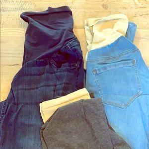 Maternity Jeans + Bonus Maternity Leggings